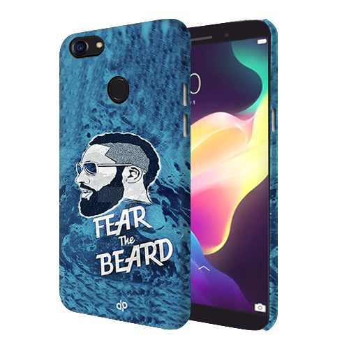 best authentic 81829 a8e36 Digiprints Fear The Beard Printed Designer Back Case Cover For Oppo F5 Youth
