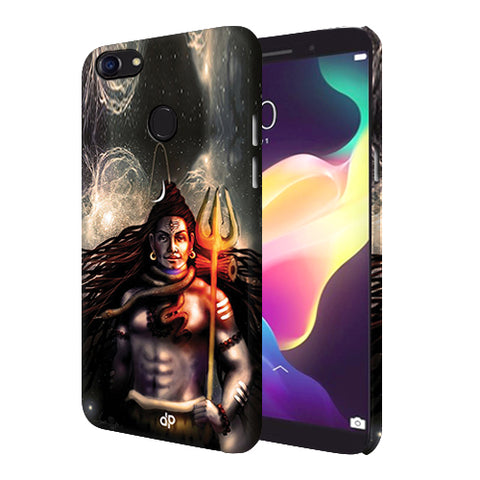 Digiprints Shiva Printed Designer Back Case Cover For Oppo F5 Youth