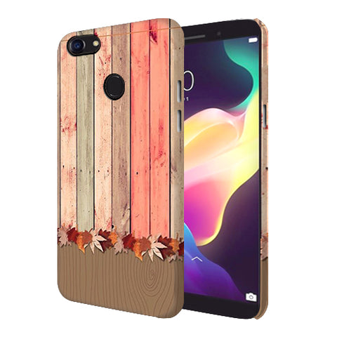 Digiprints Spring Wooden Art Printed Designer Back Case Cover For Oppo F5 Youth