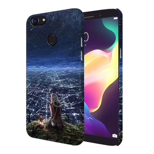 Digiprints Star City Design Printed Designer Back Case Cover For Oppo F5 Youth