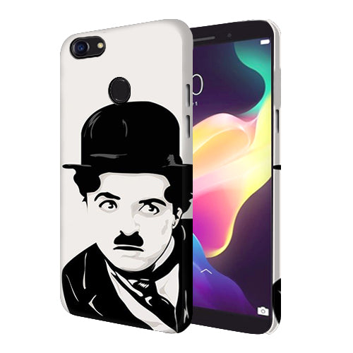 Digiprints Charlie Chaplin Printed Designer Back Case Cover For Oppo F5 Youth