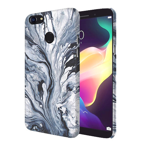 Digiprints Molten Lava Art Printed Designer Back Case Cover For Oppo F5 Youth