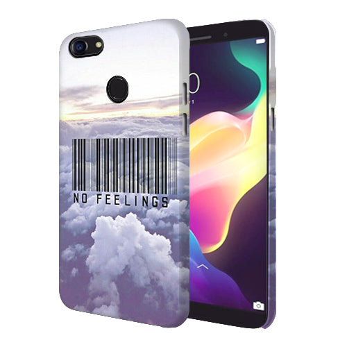 Digiprints No Feeling  Printed Designer Back Case Cover For Oppo F5 Youth