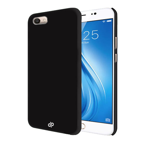Digiprints Hard Back Case for Vivo V5-Black