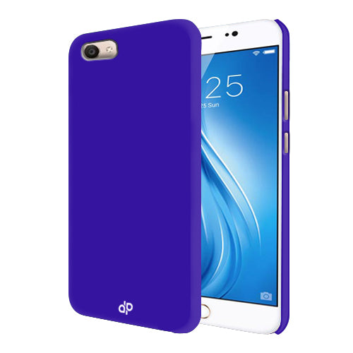 Digiprints Hard Back Case for Vivo V5-Blue