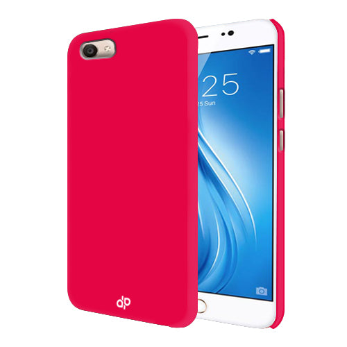 Digiprints Hard Back Case for Vivo V5-Hot Pink