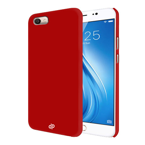Digiprints Hard Back Case for Vivo V5 Plus-Blood Red