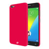 Digiprints Hard Back Case for Vivo Y55l-Hot Pink