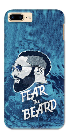 fear the beard back case for apple Iphone 7 plus