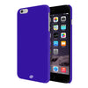 Digiprints Hard Back Case for Apple iPhone 6-Blue