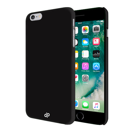 Digiprints Hard Back Case for Apple iPhone 7-Black