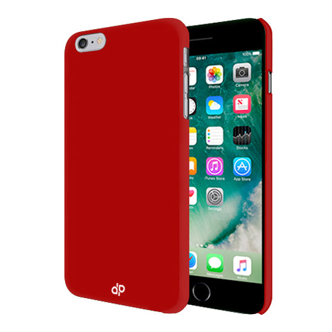 Digiprints Hard Back Case for Apple iPhone 7-Blood Red