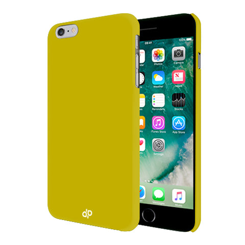Digiprints Hard Back Case for Apple iPhone 7-Yellow