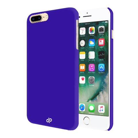 Digiprints Hard Back Case for Apple iPhone 7 Plus-Blue