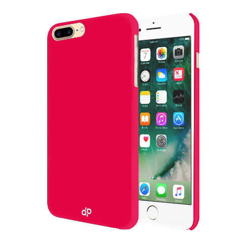 Digiprints Hard Back Case for Apple iPhone 7 Plus-Hot Pink
