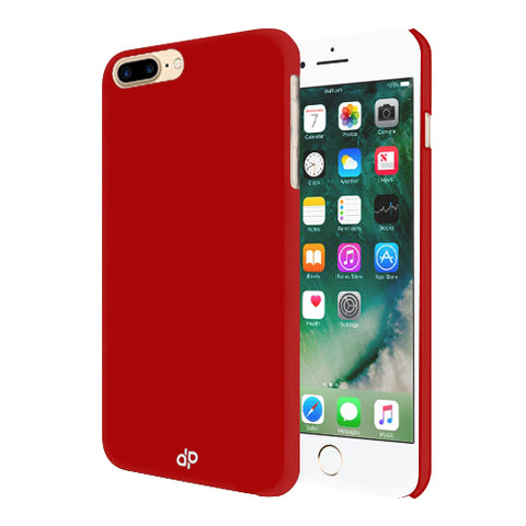 Digiprints Hard Back Case for Apple iPhone 7 Plus-Blood Red
