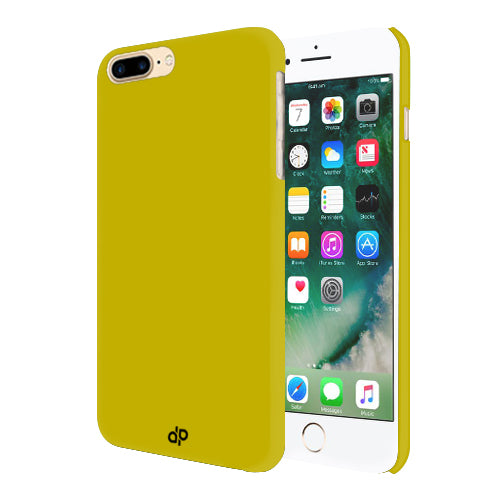 Digiprints Hard Back Case for Apple iPhone 7 Plus-Yellow