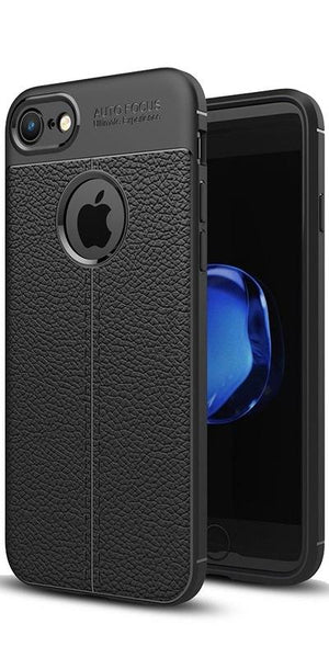 Digiprints TPU Flexible Auto Focus Shock Proof Back Cover For Apple iPhone 6-Black