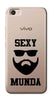 Digiprints Sexy Munda In Beard Printed Clear Case For Vivo V5