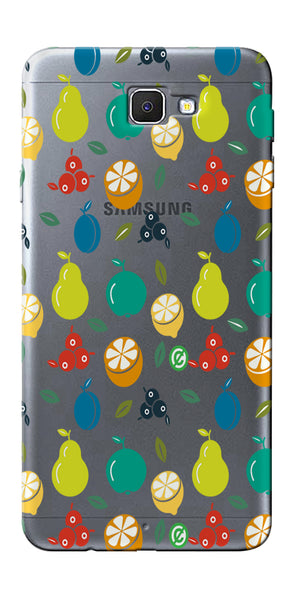 Digiprints Fruit Salsa Printed Clear Case For Samsung Galaxy J5 Prime