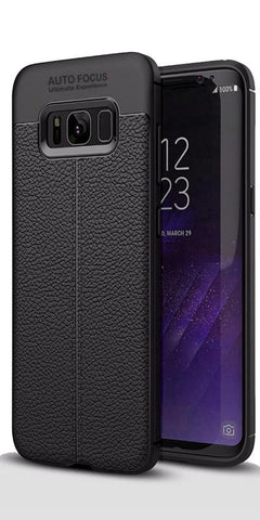 Digiprints TPU Flexible Auto Focus Shock Proof Back Cover For Samsung Galaxy S8 Plus-Black