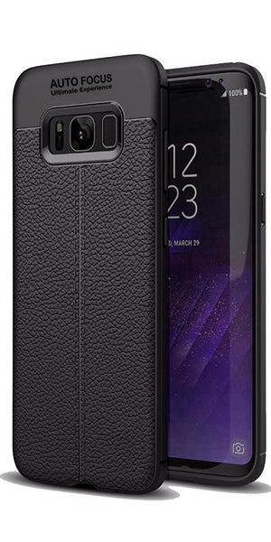 Digiprints TPU Flexible Auto Focus Shock Proof Back Cover For Samsung Galaxy S8-Black