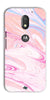 Digiprints Coloured Marble Design 3 Printed Designer Back Case Cover For Motorola Moto E3 Power
