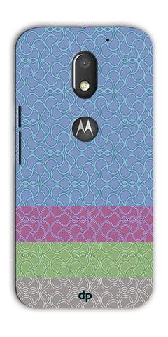 Digiprints Ethnic Colourful Design Printed Back Case Coover For Motorola Moto E3 Power