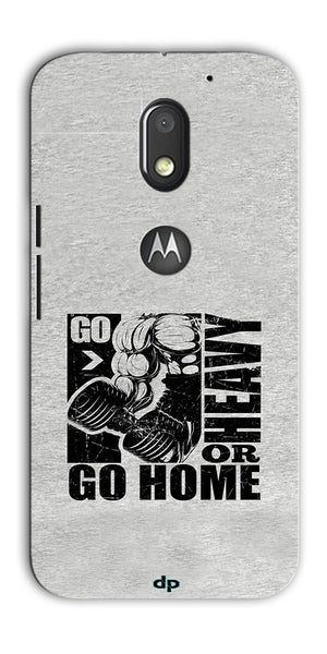 Digiprints Gym Motivation Printed Back Case Cover For Motorola Moto E3 Power