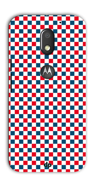 Digiprints Wooden Box With Red Ribbon Pattern Back Case Cover For Motorola Moto E3 Power
