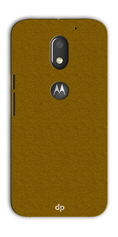 Digiprints Khaki Pattern Back Case For Motorola Moto E3 Power