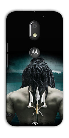 Digiprints Lord Shiva Back Case Cover For Motorola Moto E3 Power