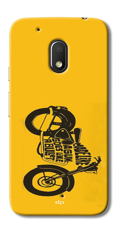 Digiprints Bullet Lover Printed Back Case Cover For Motorola Moto G4 Play