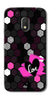 Digiprints Pretty Love Back Case Cover For Motorola Moto G4 Play