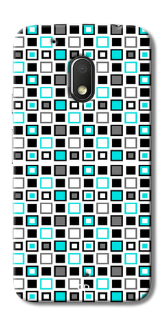 Digiprints Block Box Back Case Cover For Motorola Moto G4 Play