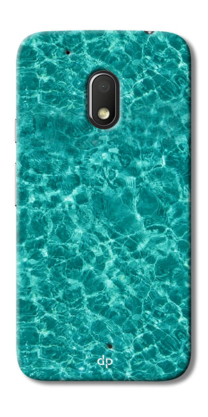 Digiprints Water Base Degin Printed Back Case Cover For Motorola Moto G4 Play