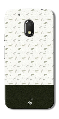 Digiprints Blak And White Art Printed Back Case Cover For Motorola Moto G4 Play