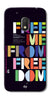 Digiprints Freedom Embedded Art Back Case For Motorola Moto G4 Play