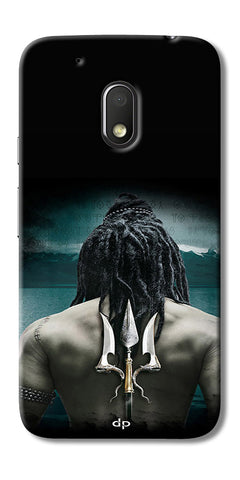 Digiprints Lord Shiva Back Case Cover For Motorola Moto G4 Play