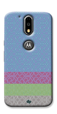 Digiprints Ethnic Colourful Design Printed Back Case Coover For Motorola Moto G4 Plus