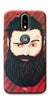 Digiprints Beard Man Printed Design Back Case Cover For Motorola Moto G4 Plus