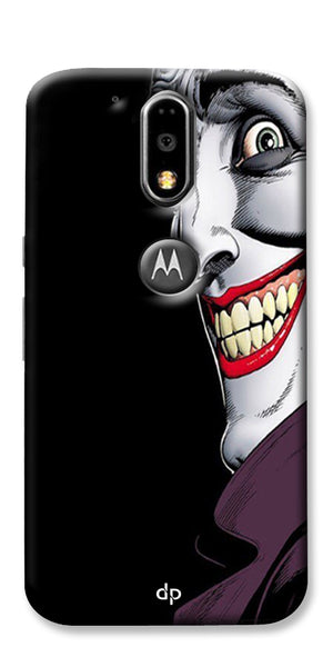 Digiprints The Joker Cartoon Printed Back Case Cover For Motorola Moto G4 Plus