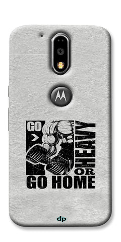 Digiprints Gym Motivation Printed Back Case Cover For Motorola Moto G4 Plus
