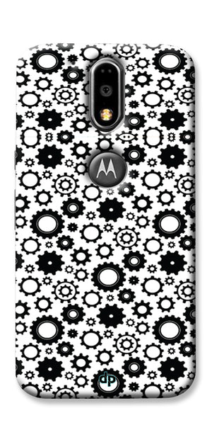 Digiprints Brain To Focus Compilation Patterns Back Case Cover For Motorola Moto G4 Plus