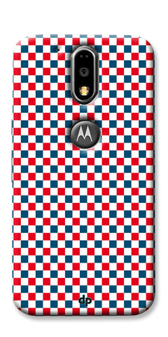 Digiprints Wooden Box With Red Ribbon Pattern Back Case Cover For Motorola Moto G4 Plus