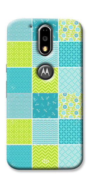 Digiprints Summer Vogue Patterns Back Case Cover For Motorola Moto G4 Plus