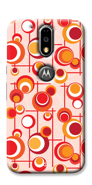 Digiprints Beautiful Geometric Patterns Back Case Cover For Motorola Moto G4 Plus