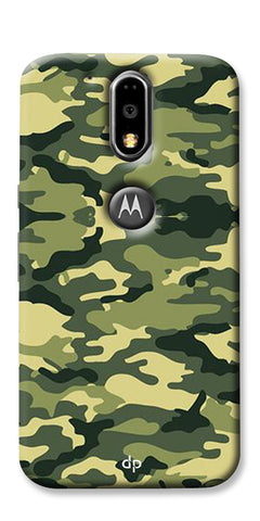 Digiprints Army Pattern Back Case Cover For Motorola Moto G4 Plus