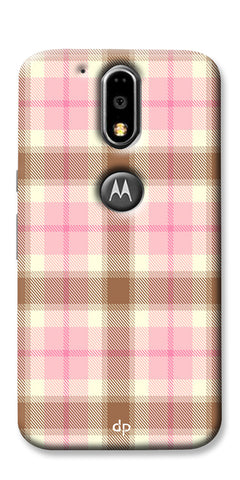 Digiprints Denim Pattern Back Case Cover For Motorola Moto G4 Plus