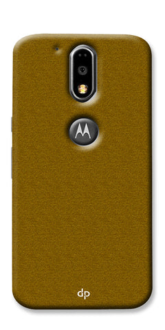 Digiprints Khaki Pattern Back Case For Motorola Moto G4 Plus